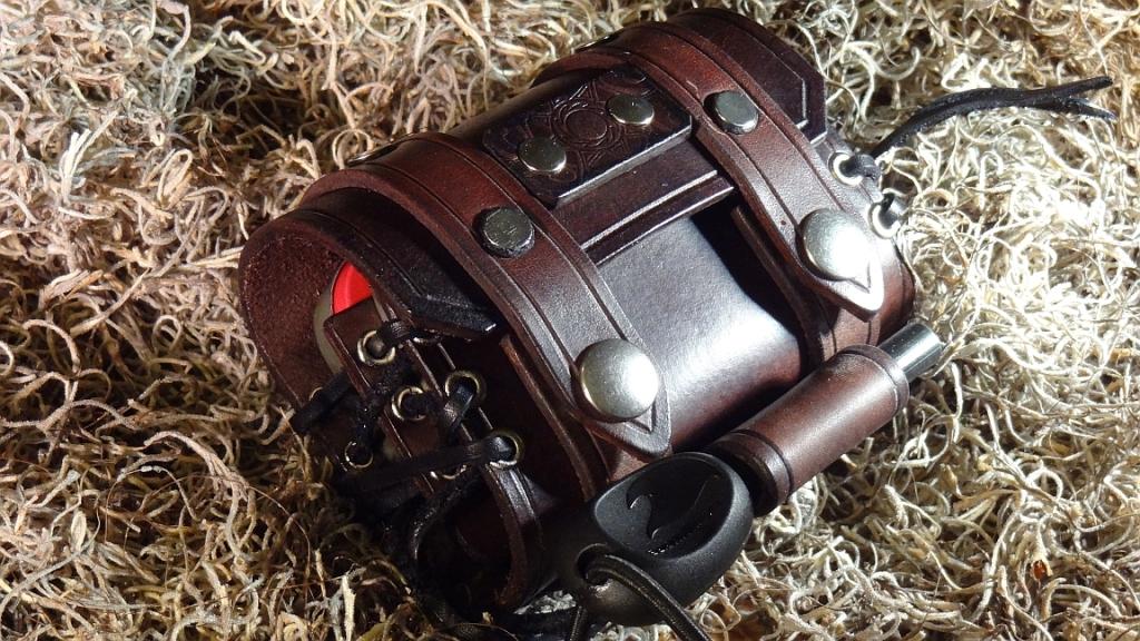 Bushcraft Leather Pouch Altoids Tin EDC Urban