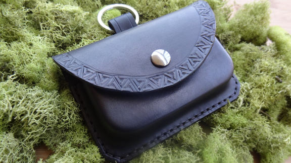 Bushcraft Possibles Pouch Handmade Leather